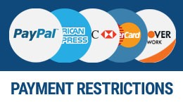 Payment Restrictions & Fees