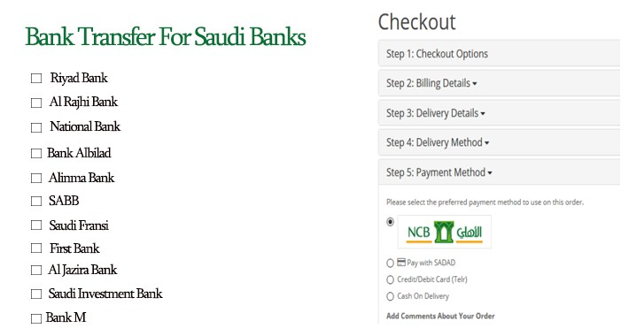 Bank Transfer For Saudi Banks