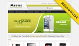 Mobile Store OpenCart Template - OPC030063