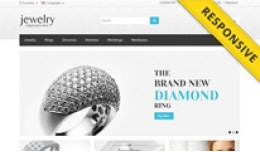 Jewelry Store OpenCart Template - OPC030071