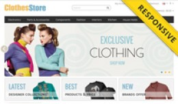 Clothes Store OpenCart Template - OPC030072