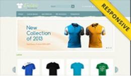 T-Shirt Store OpenCart Template - OPC040081