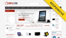Digital Store OpenCart Template - OPC050103