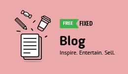 Blog Module Fixed FREE