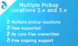 Multiple Pickup Locations 2.x and 3.x