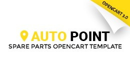 Auto Parts Responsive OpenCart Template 65320