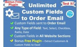 Send Registration Custom Fields to Order Email
