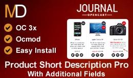 Product Short Description Pro OC 3x - Journal 2 ..