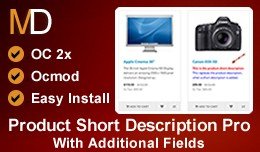 Product Short Description Pro - With Additional ..