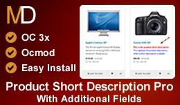 Product Short Description Pro OC 3x - With Addit..