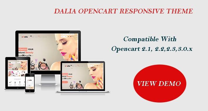 Dalia Opencart Multi Purpose Opencart Responsive Theme