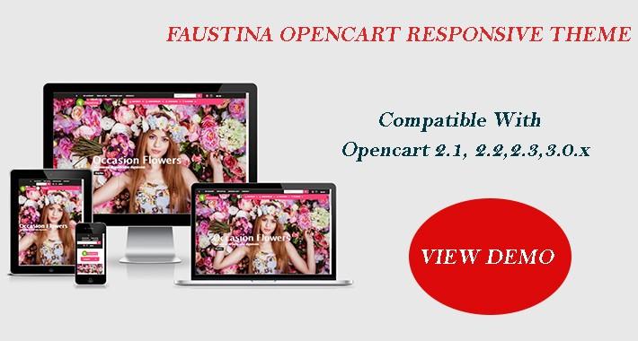 Faustina Opencart Multi Purpose Opencart Responsive Theme