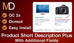 Product Short Description Plus - With Additional..