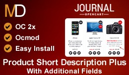 Product Short Description Plus - Journal 2 Theme