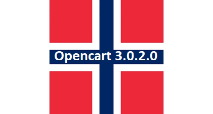 Norwegian langunge pack  for Opencart 3.0.0.0 til 3.0.2.0