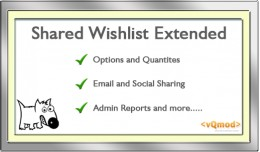 Shared Wishlist Extended & Report