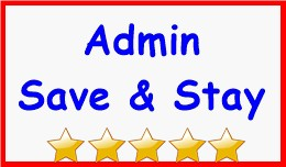 Admin Save & Stay
