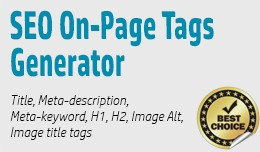 SEO On-Page Tags Bulk Generator - AUTOMATIC