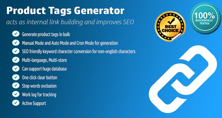 Product Tags Generator PRO - Automatic & One Click