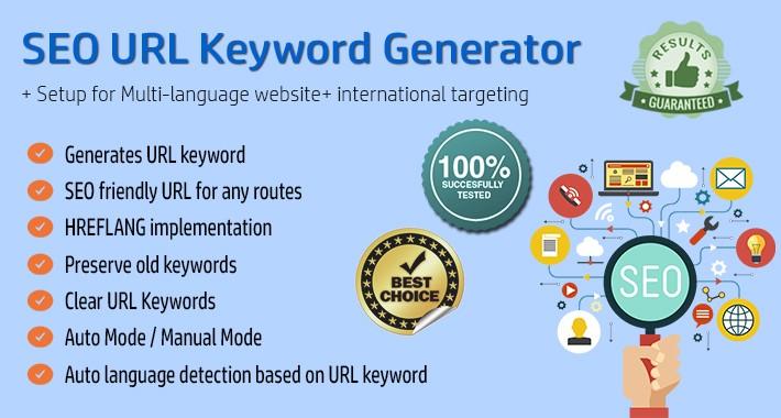 SEO URL Keyword Generator / SEO Friendly URL