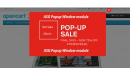 ASG Popup Window