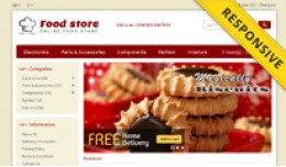 Food Store OpenCart Template - OPC050117
