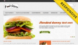 Food Store OpenCart Template - OPC050116