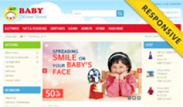 Baby OpenCart Template - OPC050115