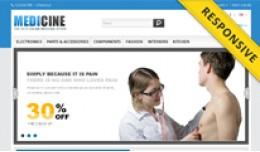 Medicine OpenCart Template - OPC050102