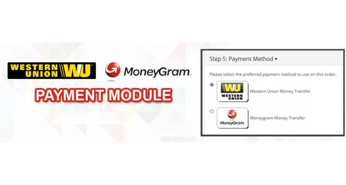Western Union Moneygram Payment Module