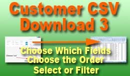 Customer CSV Download 3