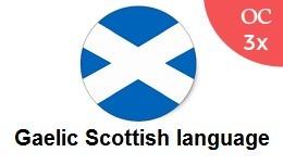 Gaelic Scottish language Pack OC3x
