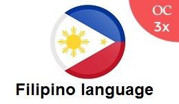 Filipino language Pack OC3x