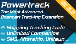 Powertrack: Add shipping tracking code for any c..