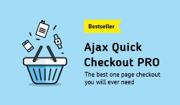 AJAX Quick Checkout PRO (One Page Checkout, Fast..