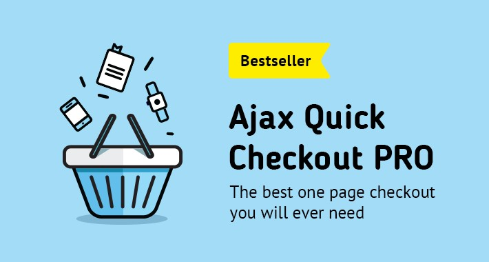 AJAX Quick Checkout PRO (One Page Checkout, Fast Checkout)