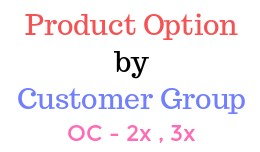 Option By Customer Group