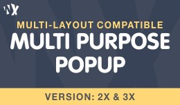 Multi-Purpose Popup