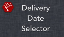Delivery Date Selector