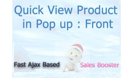 Quick View Product in Pop up : Front End