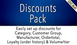 OC3 - Discounts Pack