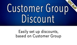 OC3 - Customer Group Discounts