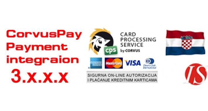 Corvus CorvusPay Payment Integration for OC 3.x.x.x