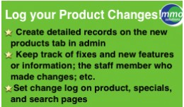 LOG your Product Changes!