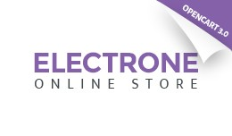 Electronics Store Responsive OpenCart Template 6..
