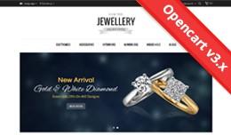 Jewellery Opencart 2 & 3 Theme - OPCADD015
