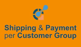 Shipping & Payment Methods per Customer Group