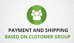 Payment & Shipping methods accordingly custo..