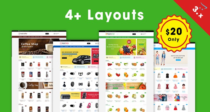 Miliano - Ecommerce Multipurpose Opencart 3.X Theme