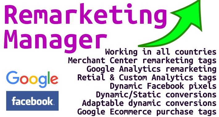 Remarketing Script Manager (Google & Facebook)